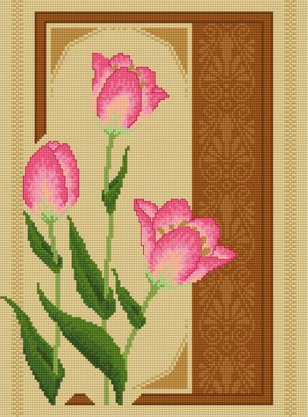 Tulipany (kwiat, roślina, bukiet, tulipan)