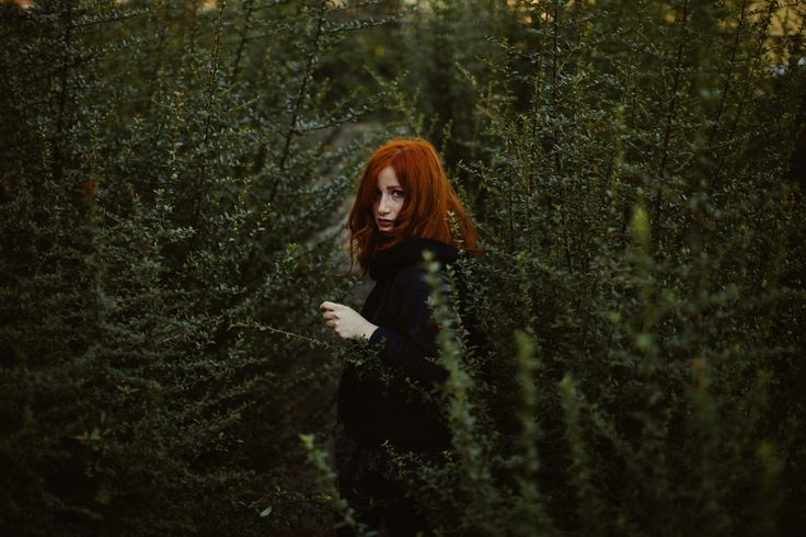 dream portrait, redhair