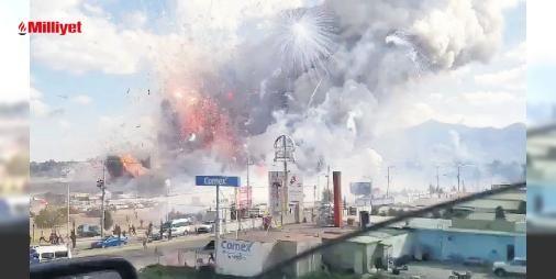 Havai fişek pazarı havaya uçtu: 36 ölü : Meksikanın başkenti Mexico Cityde Noel ve yılbaşı öncesi kurulan havai fişek pazarı dün yerle bir oldu. Meksika Federal Polisi kent merkezine 32 kilometre mesafedeki San Pablito bölgesinde bir havai fişek mağazasında sebebi bilinmeyen bir patlama olduğunu açıkladı. Patlama pazarda bulunan diğer ...  http://www.haberdex.com/dunya/Havai-fisek-pazari-havaya-uctu-36-olu/135854?kaynak=feed #Dünya   #fişek #Meksika #pazarı #havai #mağazasında