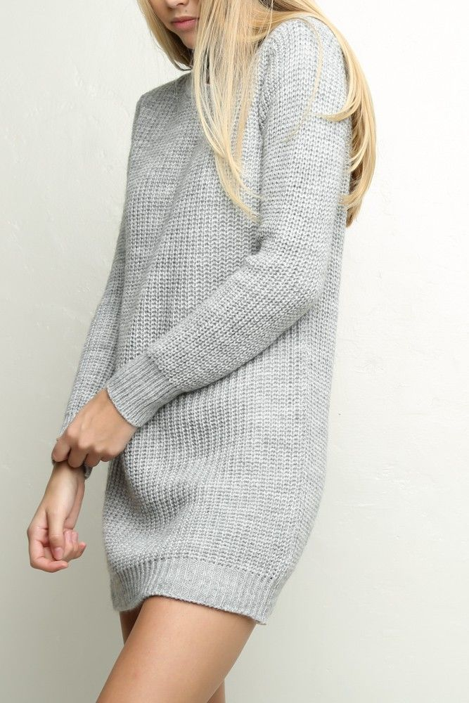 Brandy ♥ Melville | Leia Sweater Dress - Clothing