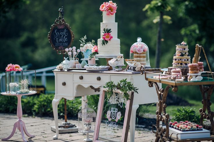 Vintage Decor by Southern Charm Vintage Rentals.