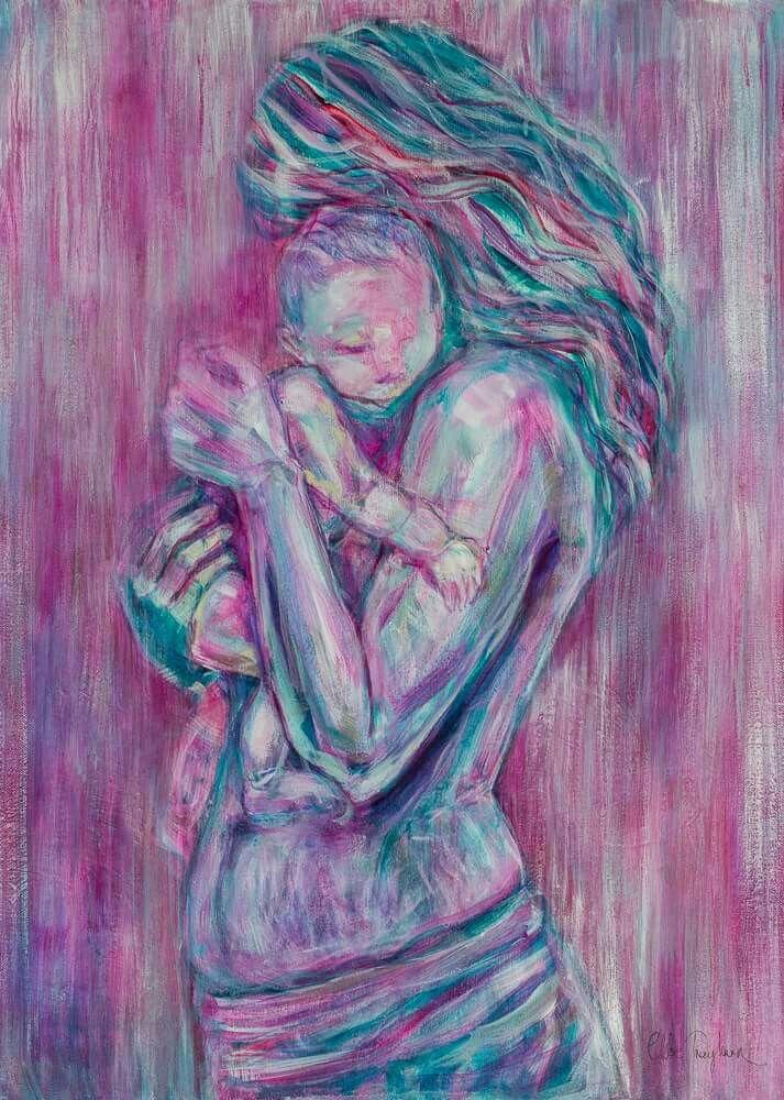 Painting by Chloe Trayhurn