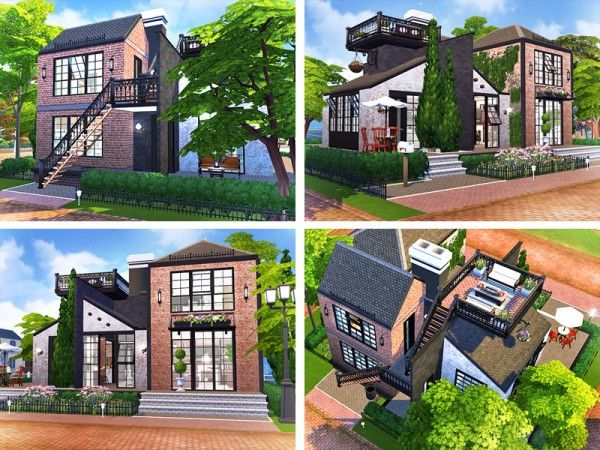 The Sims Resource Abigail House By Rirann In 2020