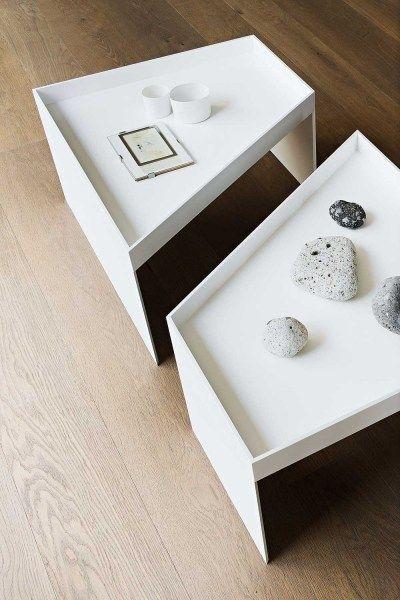 HPL coffee table COMBO by @lemamobili   design Francesco Rota #table #design