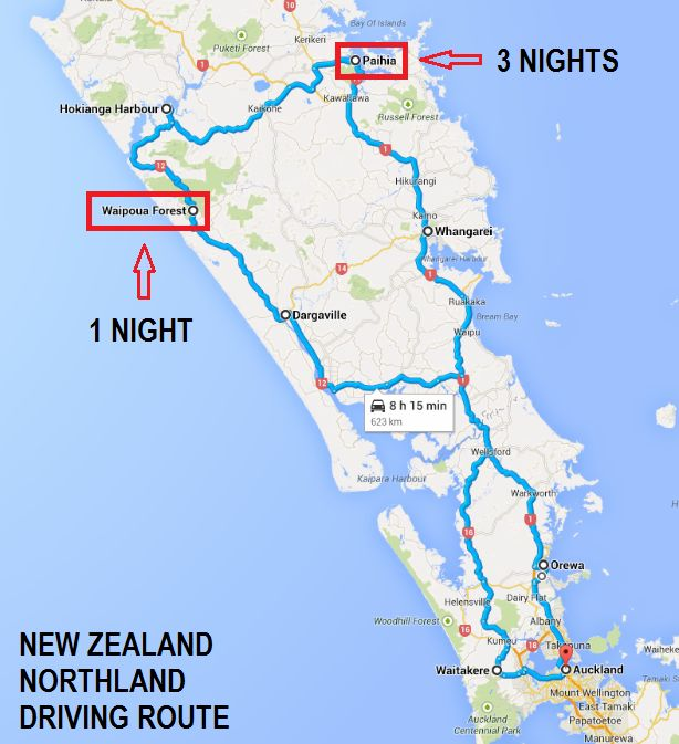Where to stay - New Zealand's Northland - A Mini Road Trip - The Trusted Traveller
