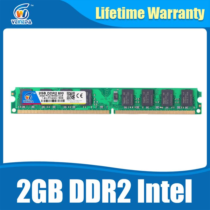 Ram ddr2 2gb for Intel AMD Compatible memoria ddr 2 GB 800 667 533 Lifetime Warranty