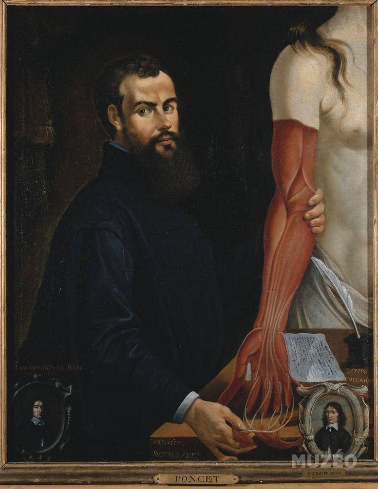 Portrait d'André Vésale (1514-1564) de Poncet Pierre - Reproduction d'art haut de gamme