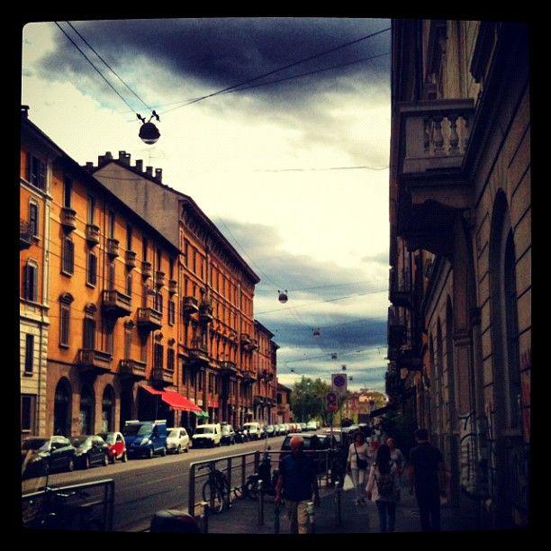 Via Vigevano: Shopping, Restaurants