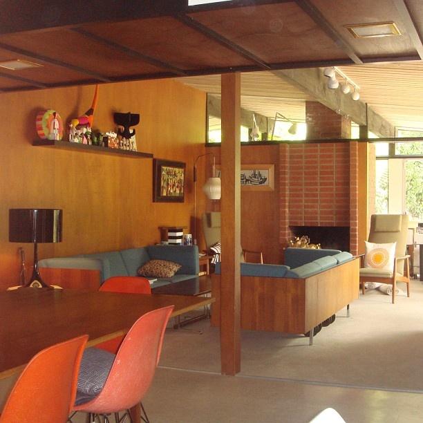 Tim Biskup's home. Designed by Eugene Weston III, 1953. Repinned by Secret Design Studio, Melbourne. www.secretdesignstudio.com