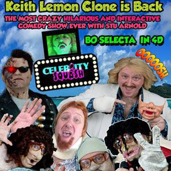 """Check out """"Keith Lemon Clone - Stu Arnold - The Clone Show"""" by Spot On Entertainment Ltd (UK) on Mixcloud. Introducing top comedy impressionist Su Arnold with his Keith Lemon Clone appearance incorporated into 'The Clone Show' for discerning clients and audiences UK. You ain't seen nothing yet!"""