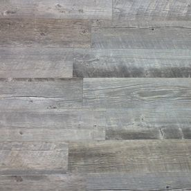 Style Selections�8-In x 48-In Natural Timber Ash Glazed Porcelain Floor Tile (Actuals 7.72-in x 47.4-in)