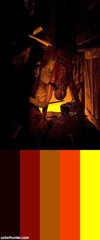 Decoración+En+London+Dungeons+Color+Scheme