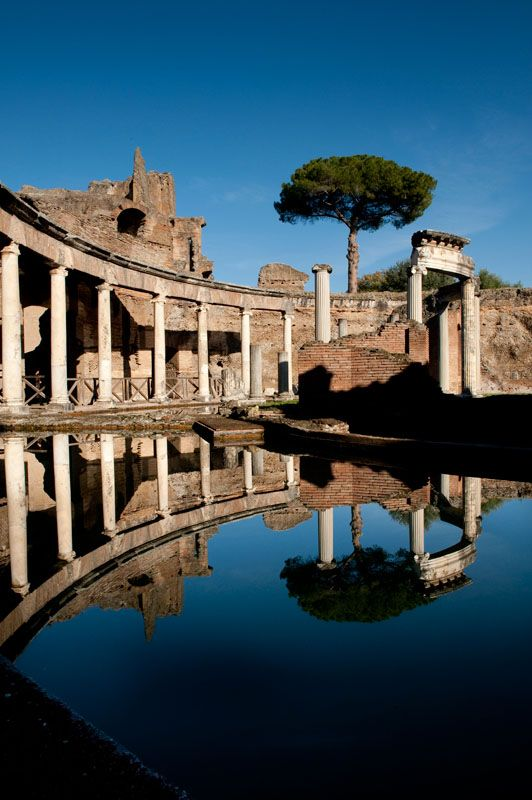 Images: Tivoli Villa Adriana and Villa D' Este - Susan Wright, Photographer, Rome, Italy