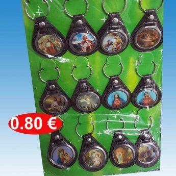 Μπρελόκ-θρησκευτικά σε διάφορες παραστάσεις 0,80 €-Ευρω