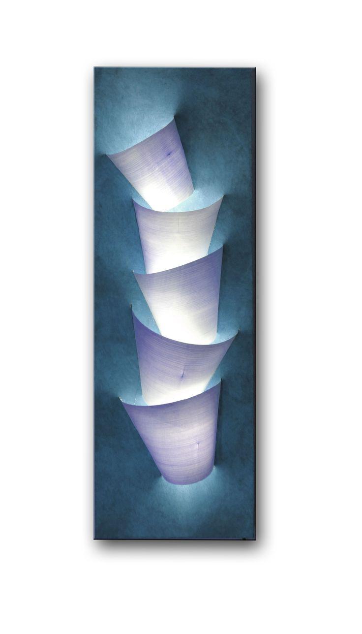Lampada in foglia di Betulla