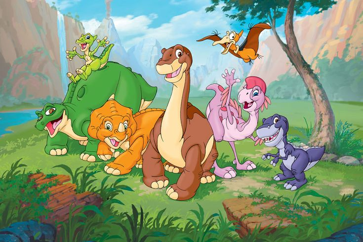 Land Before Time!! :) still love watching them!