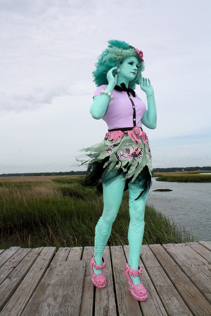 Honey Swamp, Monster High cosplay by cimmerianwillow on DeviantArt