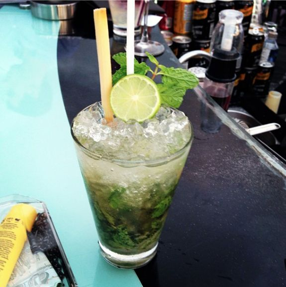 Mojito at Sky Bar @ Lebua Hotel