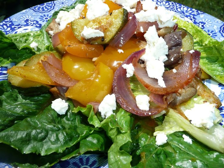 Everyday Dutch Oven: Roasted Summer Vegetables with Goat Cheese