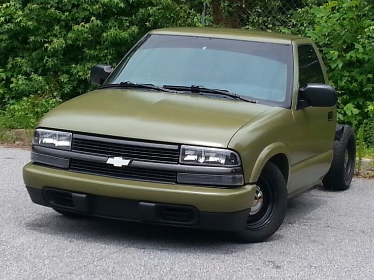 S10 Lowrider Olive Drab Green Baggers Pinterest