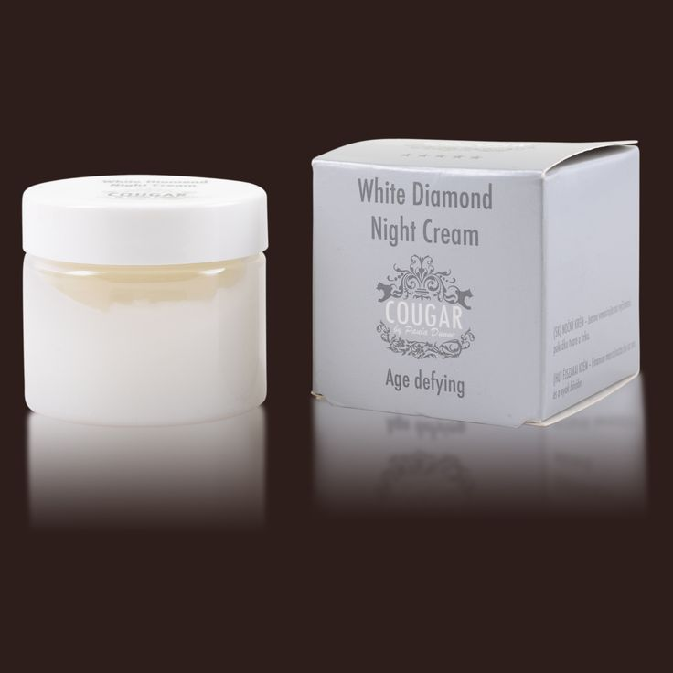 White Diamond Night Cream by Cougar - 50ml - £65 with fast free delivery - In stock now! #skincare