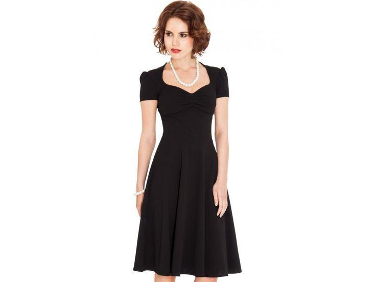 Midi šaty GRACE BLACK