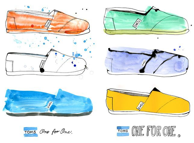 Margaret Berg Art: TOMS+One+for+One