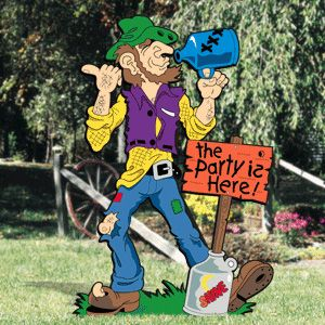 119 best hillbilly party images on pinterest birthdays for Christmas yard signs patterns