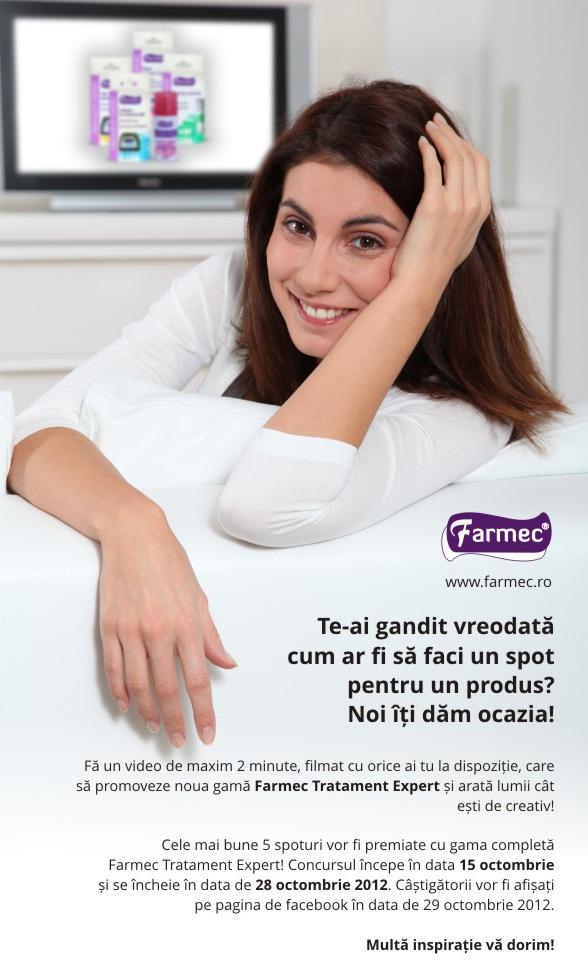 Gama Farmec Tratament Expert cauta cel mai bun spot!