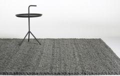 HAY Peas Dark grey carpet
