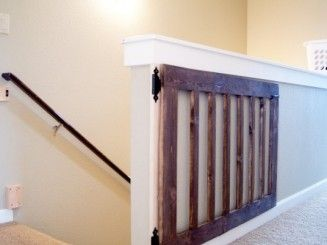 diy baby gate for large opening - Google Search