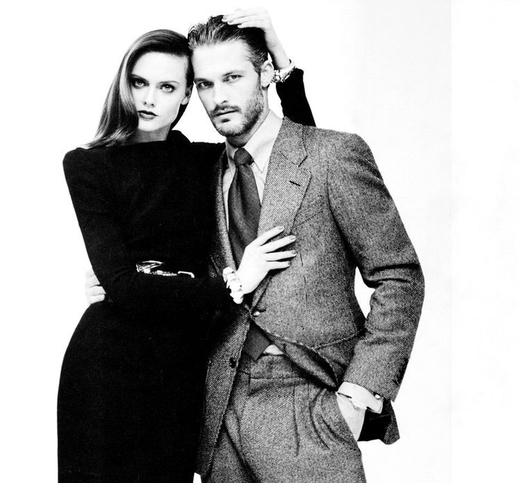 Model couple