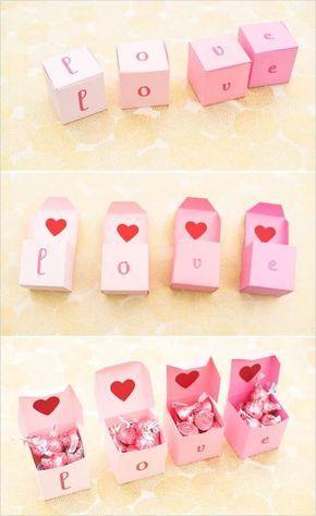 Regali fatti a mano per San Valentino - Messaggi d'amore