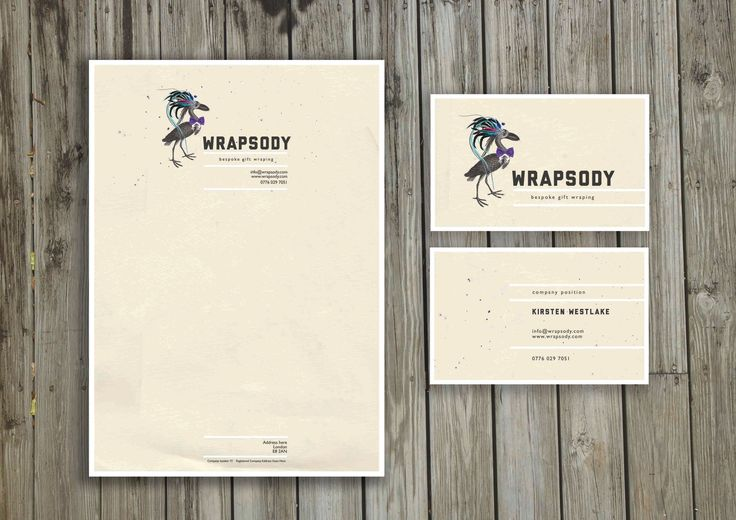 Branding and stationary design for Wrapsody, a gift wrapping service based in west London. #wrapsody #brandingdesign #brandedstationary #logo #bestlogos #londonfreelancegraphicdesigner
