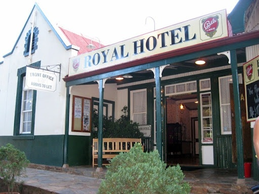 Royal Hotel, Pilgrims Rest, an old gold mining village dating back to the 1800s, Mpumalanga, South Africa