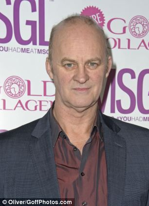 Actor Tim McInnerny was left nursing a hand injury after he was set upon by a pack of huge dogs