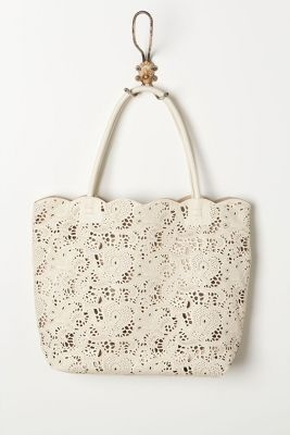 Cut Lace Carryall .... i love lace