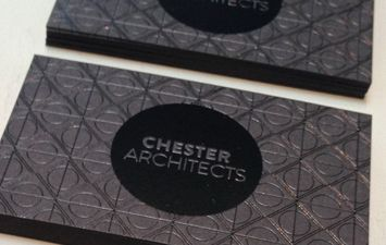 Chester Architects. Black Foil on Black - Deadly