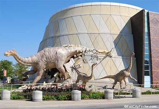 Photo of the Indianapolis Children's Museum in downtown Indianapolis, Indiana  Largest children's museum in the world!: