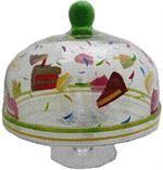 Dessert Domes|Cake Dome|Glass Cloche|Footed Cake Stand| Cake Platter with Dome| Pedestal Cake Dome| Cake Cover Plate|Pie Plates|Classichostess.com
