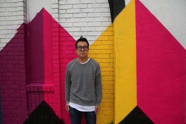 In Detroit, @MOCAD teams up with Andrew Kuo to create a 100-foot graphic mural: http://ow.ly/SD7xl #LinksWeLike