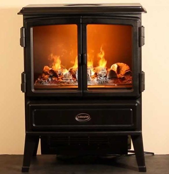 dimplex opti myst 39 oakhurst 39 traditional style stove. Black Bedroom Furniture Sets. Home Design Ideas