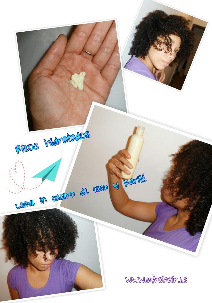 Leave in de leche de coco y karité http://afrohair.es/2013/11/leave-in-coco-karite.html