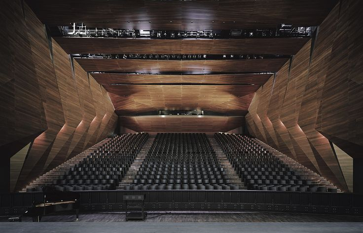 Festival Hall of the Tiroler Festspiele ERL | Delugan Meissl Associated Architects