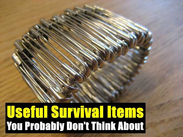 Useful Survival Items You Probably Don't Think About,prepping,survival,live,shtf,teotwawki,survival gear,tools,skill,