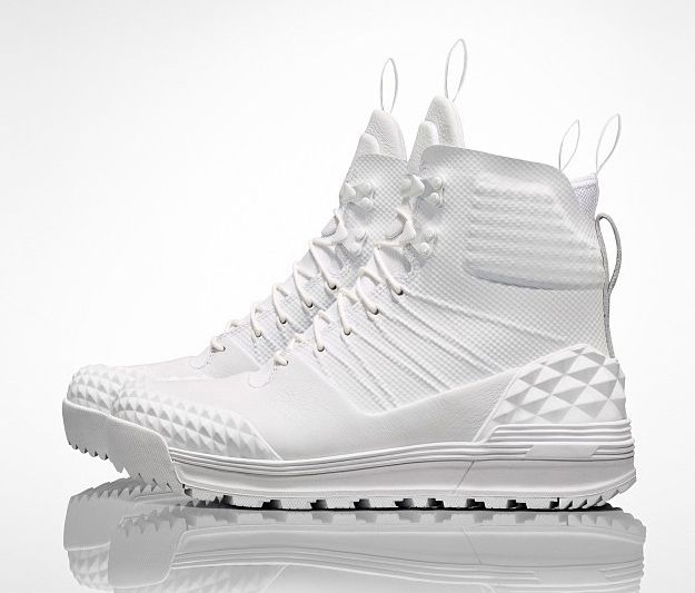 The Nike Lunar Terra Arktos will release to select retailers in this all white silhouette soon.