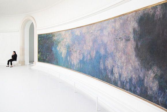 Not the Louvre: An Alternative Guide to Paris' Museums - photo is a Monet at the Musée de l'Orangerie
