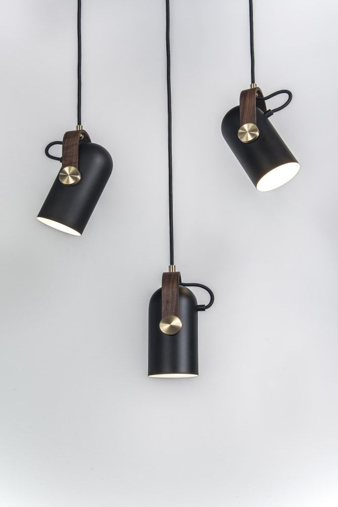 The New Carronade series originated from a small table lamp with a playful yet challenging and distinctive shape, of a small cannon. The Carronade spot pendant is the perfect spotlight. Ideal as a single working light and general light source for business and home use. These small pendants, are perfectly sized to hang as a beautiful cluster, in a row or at various angles to highlight the rotating head feature. Carronade spot pendant - always the best choice. Manufactured in matt black pa...