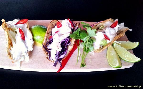 Chrupiące tacos z rybą