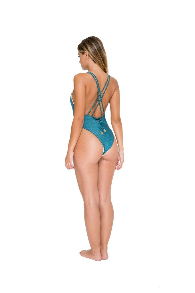 b1b2b116342e9 Luli Fama Deep V One Piece - Viva Cuba #lulifama #onepieceswimwear  #reversibleonepiece